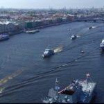 В Петербурге отметили День военно-морского флота