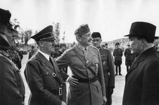 Гитлер и Маннергейм