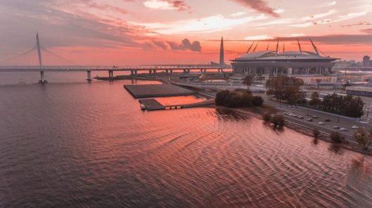 Стадион «Санкт-Петербург» (коммерческое название «Газпром Арена»)