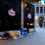 В Швеции 34 000 бездомных