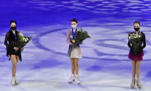 Елизавета Туктамышева, Анна Щербакова, Александра Трусова