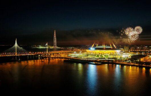 Стадион «Санкт-Петербург» в 2021 г.