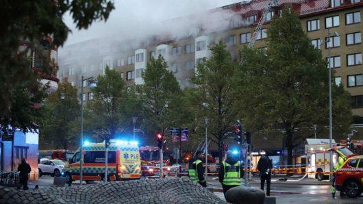 Взрыв в Гётеборге