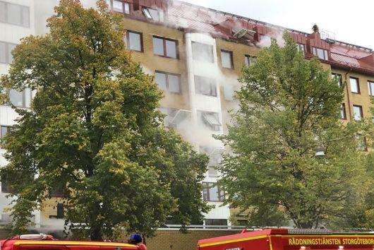 Причина взрыва в жилом доме в Гётеборге